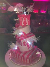 victorias secret  sweet sixteen cake