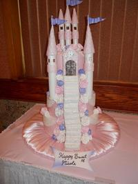 castle sweet sixteen cakes