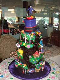 willy wonka sweet sixteen cake