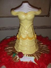 Beauty and the beast cake